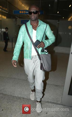 Seal - Seal arrives at Los Angeles International (LAX) airport - Los Angeles, California, United States - Sunday 24th August...