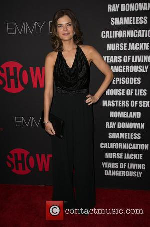 Betsy Brandt - Showtime's 2014 Emmy Eve Soiree held at the Sunset Tower Hotel - Arrivals - Los Angeles, California,...