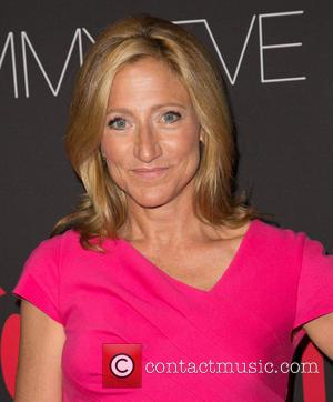Edie Falco - Showtime's 2014 Emmy Eve Soiree held at the Sunset Tower Hotel - Arrivals - Los Angeles, California,...