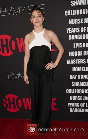 Rose McGowan - Showtime's 2014 Emmy Eve Soiree held at the Sunset Tower Hotel - Arrivals - Los Angeles, California,...