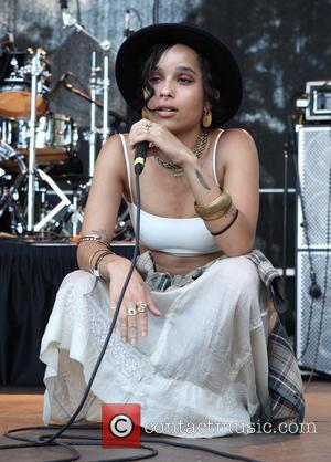 Zoe Kravitz and Lolawolf - AfroPunk Festival 2014 at Commodore Barry Park - Day 2 - Performances - Brooklyn, New...