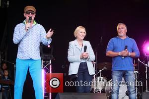 Mary Berry, Paul Hollywood and Chris Evans