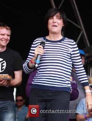 Sharleen Spiteri - Mary Berry wins Cake v Pies at Car Fest, beating Paul Hollywood. - Overton, United Kingdom -...