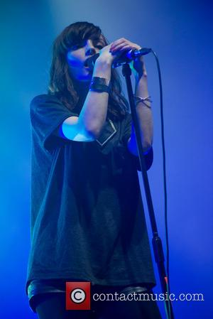 Chvrches and Lauren Mayberry - Chvrches perform on day 3 Leeds Festival - Leeds, United Kingdom - Sunday 24th August...