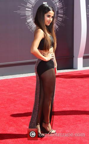 Becky G - Various Stars of the music industry including Nicki Minaj, Jeremy Scott, Ed Sheeran and many more attended...