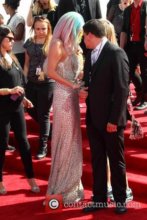 Kesha - 2014 MTV Video Music Awards at The Forum - Inglewood, California, United States - Sunday 24th August 2014