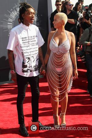 Wiz Khalifa and Amber Rose