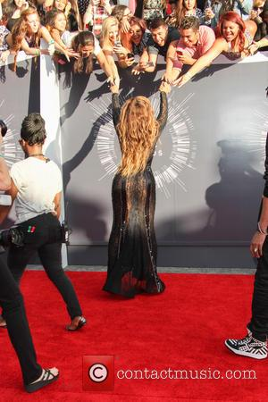 Beyonce - 2014 MTV Video Music Awards at The Forum - Inglewood, California, United States - Sunday 24th August 2014