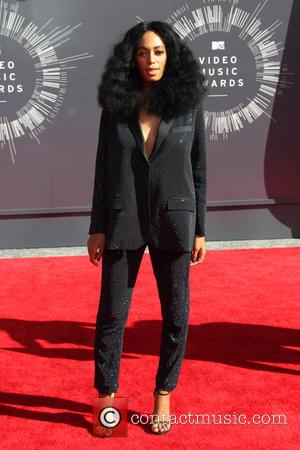 Solange Knowles - 2014 MTV Video Music Awards at The Forum - Arrivals - Inglewood, California, United States - Sunday...