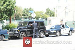 Naya Rivera - Naya Rivera talks to officers from the Los Angeles Police Department before they let her go -...