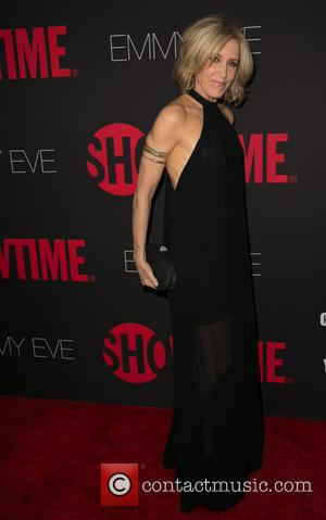 Felicity Huffman - Showtime's 2014 Emmy Eve Soiree at Sunset Tower Hotel - Arrivals - Los Angeles, California, United States...