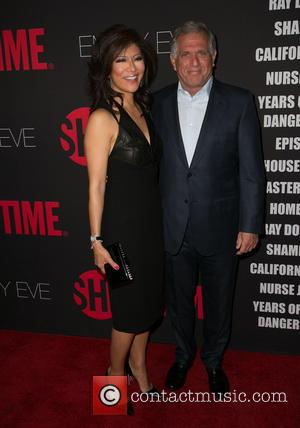 Julie Chen and Leslie Moonves