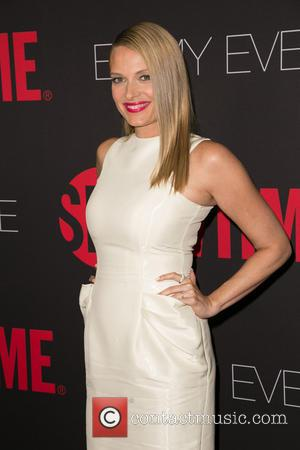 Vinessa Shaw - Showtime's 2014 Emmy Eve Soiree at Sunset Tower Hotel - Arrivals - Los Angeles, California, United States...
