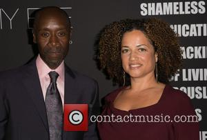 Don Cheadle and Bridgid Coulter - Showtime's 2014 Emmy Eve Soiree held at the Sunset Tower Hotel - Arrivals -...