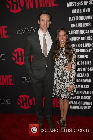 Teddy Sears and Milissa Skoro - Showtime's 2014 Emmy Eve Soiree at Sunset Tower Hotel - Arrivals - Los Angeles,...
