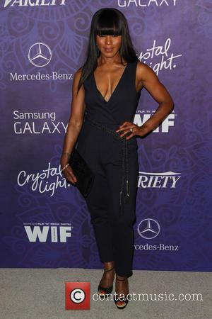 Angela Bassett - Women in Film & Television Pre-Emmy Party with Variety at Gracias Madre - West Hollywood, California, United...