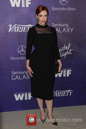 Christina Hendricks - Women in Film & Television Pre-Emmy Party with Variety at Gracias Madre - West Hollywood, California, United...