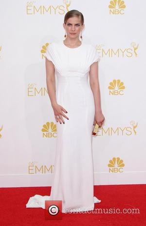 Anna Chlumsky - 66th Primetime Emmy Awards held at The Nokia Theatre - Arrivals - Los Angeles, California, United States...