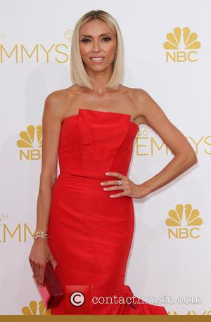 Giuliana Rancic - 66th Primetime Emmy Awards held at The Nokia Theatre - Arrivals - Los Angeles, California, United States...