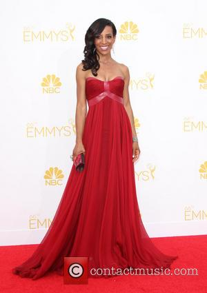 Shaun Robinson - 66th Primetime Emmy Awards held at The Nokia Theatre - Arrivals - Los Angeles, California, United States...