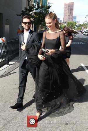 Adam Levine and Behati Prinsloo