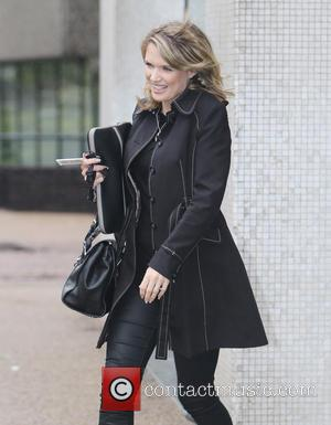 Charlotte Hawkins - Charlotte Hawkins outside ITV Studios - London, United Kingdom - Monday 25th August 2014