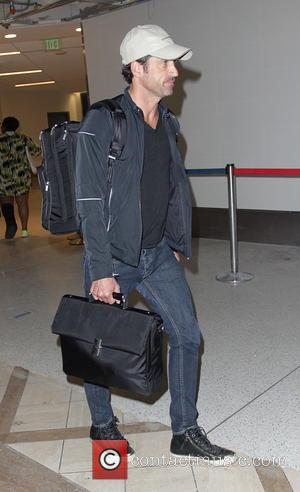 Patrick Dempsey - Patrick Dempsey at Los Angeles International Airport (LAX) - Los Angeles, California, United States - Monday 25th...