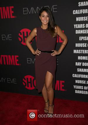 Emmanuelle Chriqui - Showtime's 2014 Emmy Eve Soiree held at the Sunset Tower Hotel - Arrivals - Los Angeles, California,...
