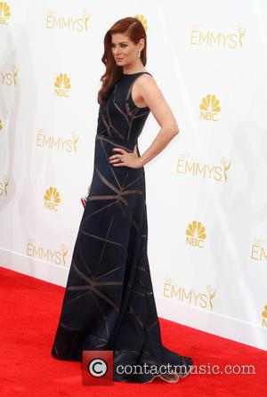 Debra Messing - A host of A list stars turned out for the 66th Annual Primetime Emmy Awards in Los...