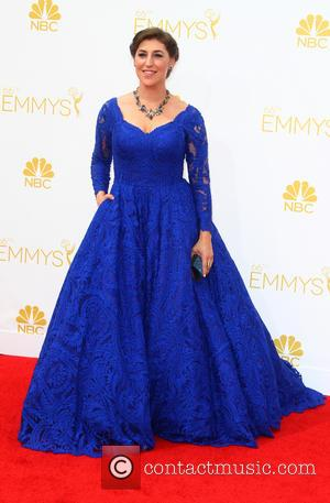 Mayim Bialik - A host of A list stars turned out for the 66th Annual Primetime Emmy Awards in Los...