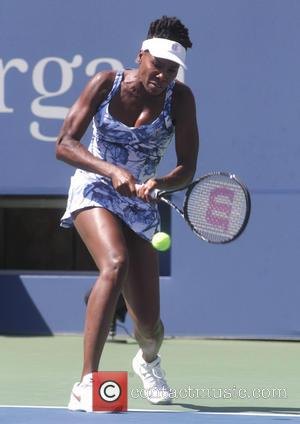 Venus Williams - Stars including some of The Muppets and Alec Baldwin attended the opening rounds of the 2014 US...