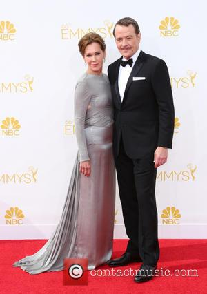 Bryan Cranston and Robin Dearden - 66th Primetime Emmy Awards - Arrivals - Los Angeles, California, United States - Monday...