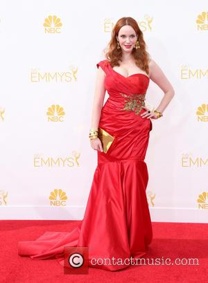 Christina Hendricks - 66th Primetime Emmy Awards - Arrivals - Los Angeles, California, United States - Monday 25th August 2014