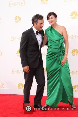 Mark Ruffalo and Sunrise Coigney - 66th Primetime Emmy Awards held at The Nokia Theatre L.A. Live. - Los Angeles,...