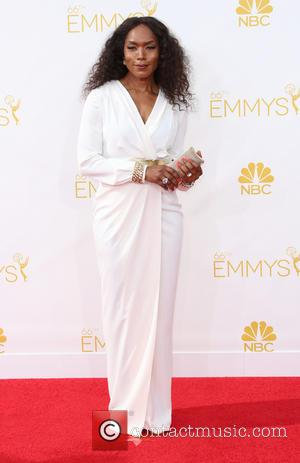 Angela Bassett - 66th Primetime Emmy Awards at Nokia Theatre L.A. Live - Arrivals - Los Angeles, California, United States...