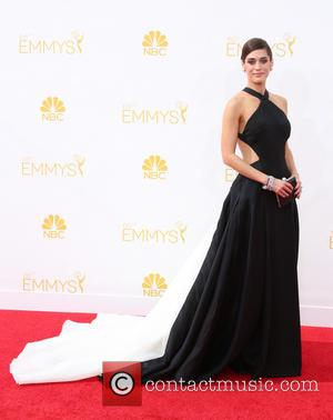 Lizzy Caplan - 66th Primetime Emmy Awards at Nokia Theatre L.A. Live - Arrivals - Los Angeles, California, United States...