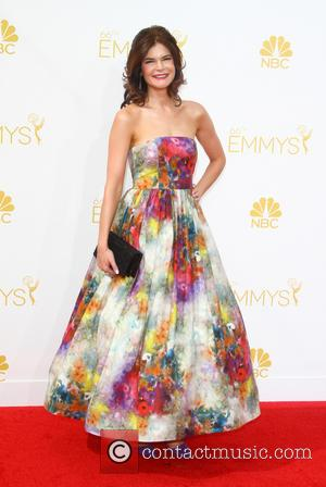 Betsy Brandt - 66th Primetime Emmy Awards at Nokia Theatre L.A. Live - Arrivals - Los Angeles, California, United States...