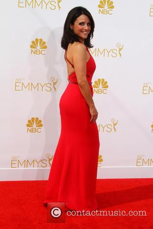 Julia Louis-Dreyfus - 66th Primetime Emmy Awards at Nokia Theatre L.A. Live - Arrivals - Los Angeles, California, United States...