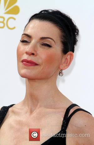Julianna Margulies - 66th Primetime Emmy Awards at Nokia Theatre L.A. Live - Arrivals - Los Angeles, California, United States...