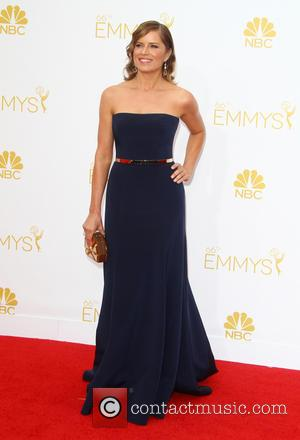 Kim Dickens - 66th Primetime Emmy Awards at Nokia Theatre L.A. Live - Arrivals - Los Angeles, California, United States...