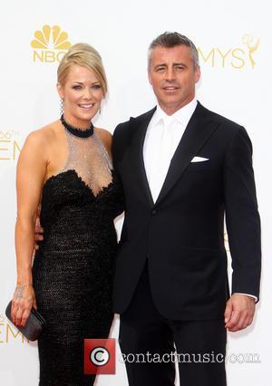 Matt LeBlanc and Melissa McKnight - 66th Primetime Emmy Awards at Nokia Theatre L.A. Live - Arrivals - Los Angeles,...