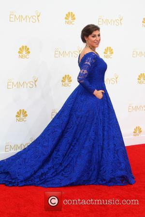 Mayim Bialik - 66th Primetime Emmy Awards at Nokia Theatre L.A. Live - Arrivals - Los Angeles, California, United States...