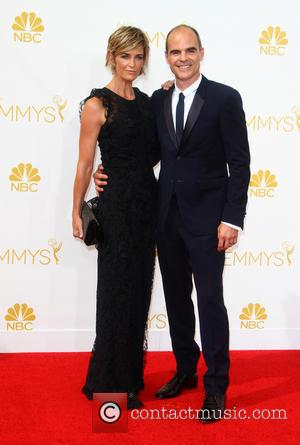 Michael Kelly and Karyn Kelly - 66th Primetime Emmy Awards at Nokia Theatre L.A. Live - Arrivals - Los Angeles,...