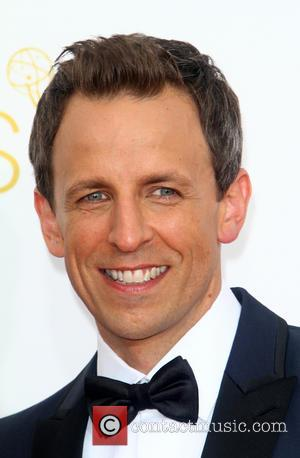 Seth Meyers - 66th Primetime Emmy Awards at Nokia Theatre L.A. Live - Arrivals - Los Angeles, California, United States...