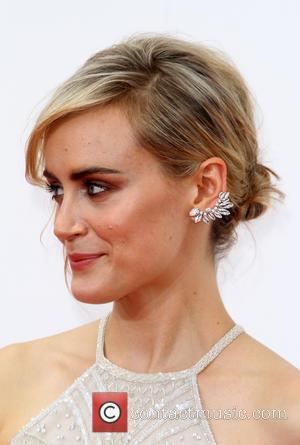 Taylor Schilling - 66th Primetime Emmy Awards at Nokia Theatre L.A. Live - Arrivals - Los Angeles, California, United States...