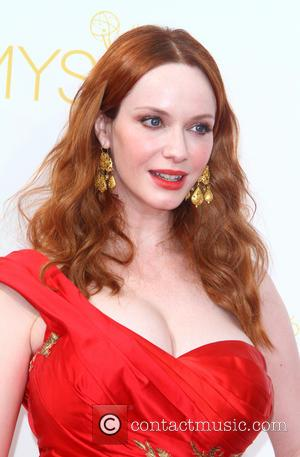 Christina Hendricks - 66th Primetime Emmy Awards at Nokia Theatre L.A. Live - Arrivals - Los Angeles, California, United States...