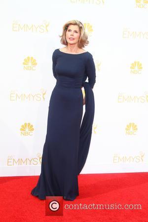 Christine Baranski - 66th Primetime Emmy Awards at Nokia Theatre L.A. Live - Arrivals - Los Angeles, California, United States...