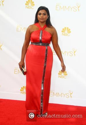 Mindy Kaling - 66th Primetime Emmy Awards at Nokia Theatre L.A. Live - Arrivals - Los Angeles, California, United States...