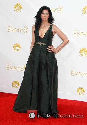 Sarah Silverman - 66th Primetime Emmy Awards at Nokia Theatre L.A. Live - Arrivals - Los Angeles, California, United States...