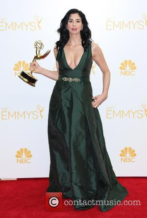 Sarah Silverman - The 66th Primetime Emmy Awards at the Nokia Theatre - Pressroom - Los Angeles, California, United States...